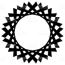 tribal circle vector shape stock vector more images