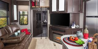 Luxury Living Room by 2017 Seismic Wave Toy Hauler Jayco Inc