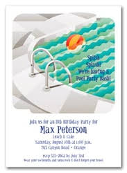 pool party invitations kid s pool party invitations invitations swim party