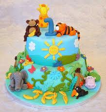 jungle theme cake animal birthday cakes and cupcakes for kids