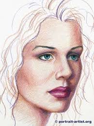 colored pencil portrait tutorial lesson on how to draw a face