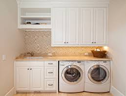 White Laundry Room Cabinets Laundry Laundry Room Cabinets Above Washer And Dryer Also
