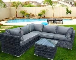 canapé d angle exterieur canape d angle exterieur resine salon de jardin en racsine