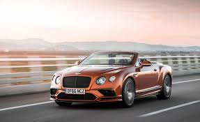 bentley orange 2018 bentley continental supersports cars exclusive videos and