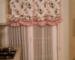 Shabby Chic Valance by Shabby Chic Home Pink Linen Balloon Valance French Country