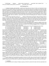 Commercial Lease Termination Agreement Commercial Lease Form 53 Free Templates In Pdf Word Excel Download