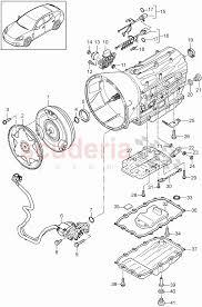 porsche boxster automatic transmission replacement transmission tiptronic single parts for porsche