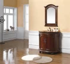 Round Bathroom Vanity Half Round Walnut Bathroom Vanity Tsc