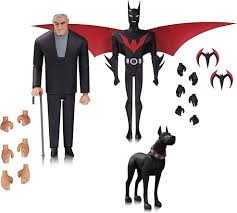 batman beyond batman the animated series batman beyond action figure 3 pack dc
