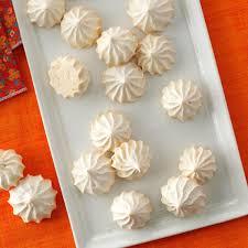 vanilla meringue cookies recipe taste of home