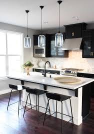 3 gorgeous ways to soften black kitchen cabinets martha stewart