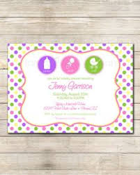 shake rattle and roll baby shower vintage rattle baby shower invitation girl or boy by lbkinvites