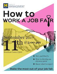 How To Prepare A Resume For A Job Fair by Events University Of Michigan Flint