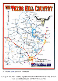 Texas Hill Country Map Texas Cryptid Hunter 2012