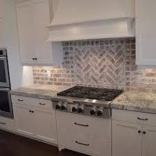 brick backsplash kitchen brick backsplash in the kitchen easy diy install with our