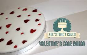 how to make a valentines heart cake board cake decorating