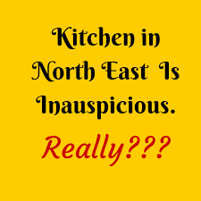vastu remedies for kitchen located in north east in a home