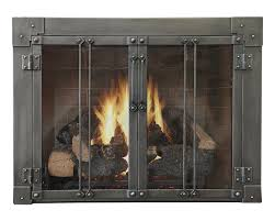 milwaukee forge aramda fireplace doors are custom made in the usa