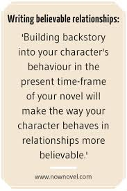 descriptive essay about a place sample make character relationships real 6 tips now novel writing believable characters now novel quote