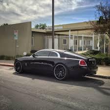 roll royce wraith black rdb la rolls royce wraith lowered on forgiato wheels