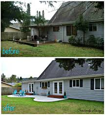 backyard makeover the big reveal creatively living blog