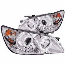 lexus is300 headlight assembly anzo usa 121200 lexus is300 chrome clear projector with halos