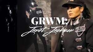 Janet Jackson Rhythm Nation Halloween Costume Grwm 90s Vma Party Janet Jackson Vlog 018