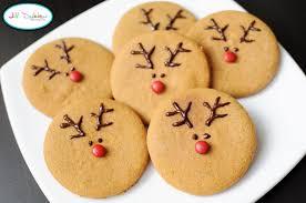gingerbread reindeer cookies xmasblor