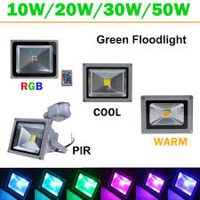 16 color tones rgb led flood light for illumination and