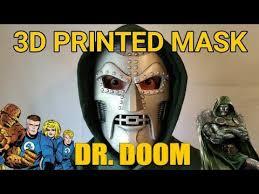 Dr Doom Mask 3d Printed Dr Doom Mask Time Lapse Thingiverse Stl File