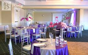 Purple Flowers Centerpieces by Mix Of High And Low Centerpieces Of Purple Flowers In Our Silver