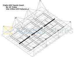 tennis court lighting layout lsi 3 court lighting layout doc