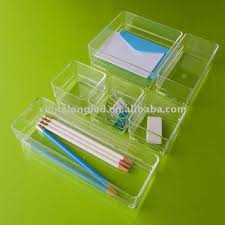 clear acrylic desk organizer acrylic desk organizer or clear acrylic stationery with 6 dividers