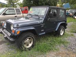 2001 jeep sport engine for sale 2001 jeep wrangler sport in orbisonia pa george s used cars inc