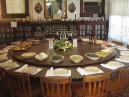 sensational ideas round dining room tables for 10 all dining room