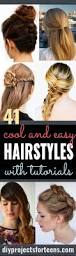 Quick Easy Hairstyles For Girls by Best 25 Back To Hairstyles Ideas On Pinterest