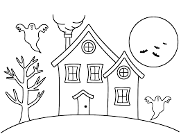 results for how to draw a haunted house color math x math