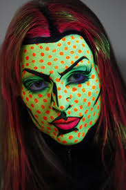 how to create a pop art face paint design facepaint com youtube