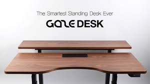 bureau connecté gaze desk le bureau connecté gadgeek fr