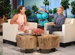 Hawaii Chair Ellen Gwen Stefani Is Grilled About Blake Shelton On The Ellen Degeneres