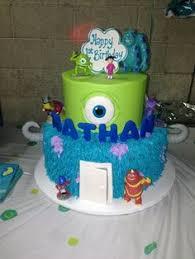 monsters inc birthday cake s inc 2nd birthday cake s inc theme 2nd
