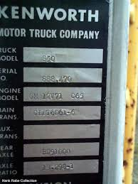 kenworth part number lookup kw serial numbers