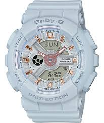 light blue g shock watch g shock baby g ba110ga 8a light blue rose gold watch zumiez