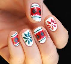 awesome christmas nail art design ideas 2012