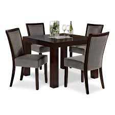 Rustic Kitchen Tables Value City Furniture Dining Room Sets Sets Some Armless Black