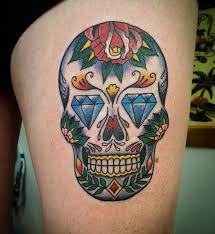 30 amazing and inspiring sugar skull tattoos designwrld