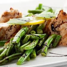 cuisiner des haricots verts surgel pavés de saumon grillés haricots verts et balsamique toutes les