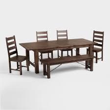 wood garner dining bench world market