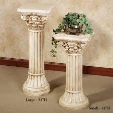 plant for home decoration home decor best roman columns for home decor decor idea stunning
