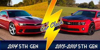 2012 vs 2013 camaro 2014 camaro picture makes us ask which would you rather